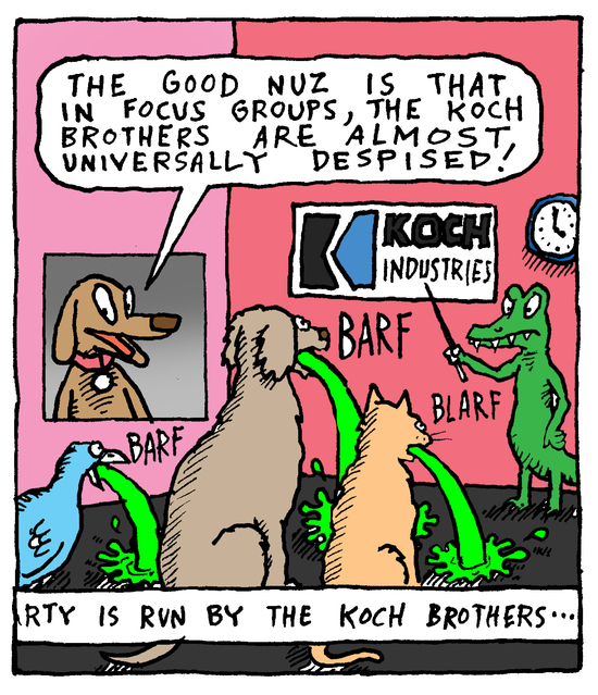 Animal Nuz comic #192 by Eric Lewis panel 3