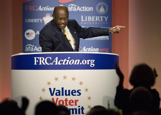 Herman Cain (Jonathan Ernst/Reuters)