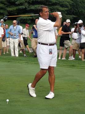 John Boehner Golfs