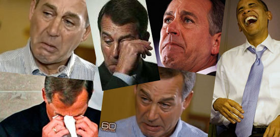 Boehner Whining
