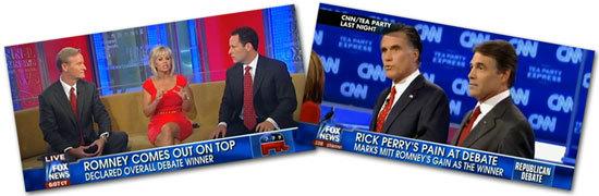 Romney won