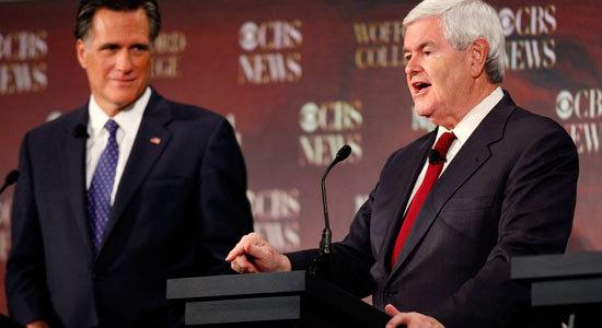 Gingrich Romney