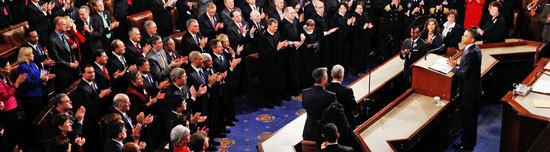 President Obama delivers 2011 State of the Union (Photo: Jim Young, Reuters)
