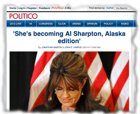 Politico's front page