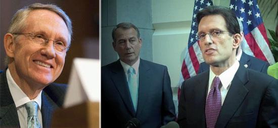 Harry Reid John Boehner Eric Cantor
