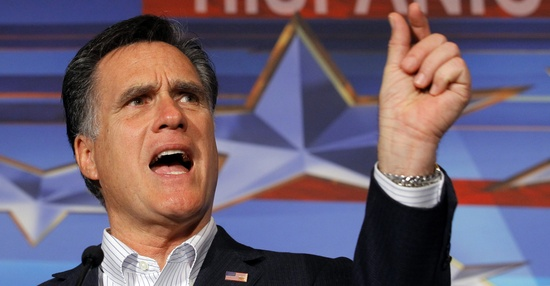 Mitt Romney measures his ... support from independents (Brian Snyder/Reuters)