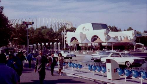 Chrysler pavilion 1964 World's Fair in New York