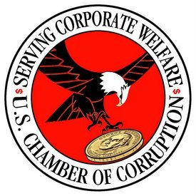 Chamber of Commerce logo caricature