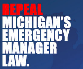 Repeal MI emergency manager law