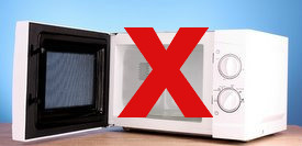 Microwave with X