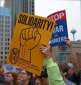 solidarity sign