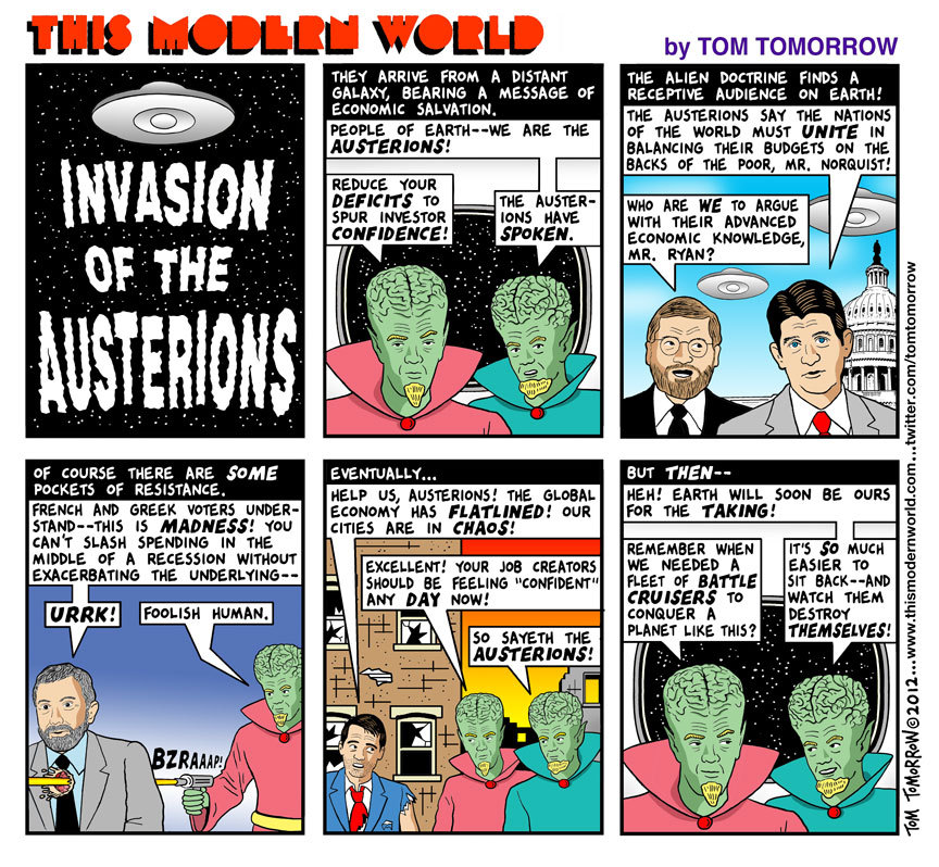 Invasion of the Austerions via dailykos