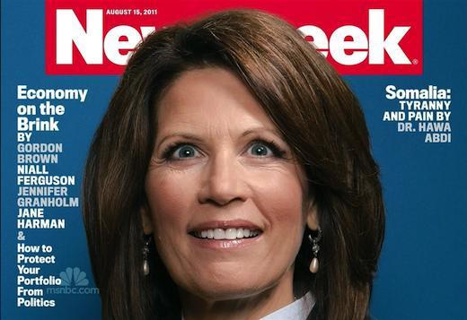 Michele Bachmann Newsweek cover