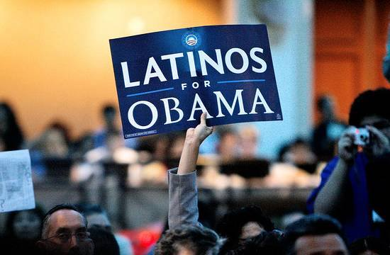 Latinos for Obama rally