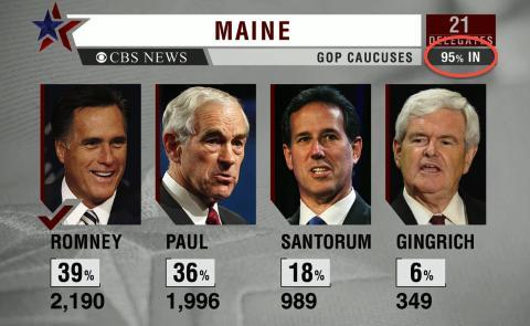 Maine results screen capture