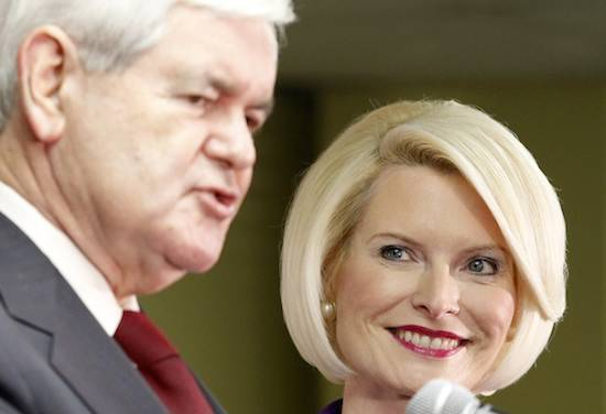 Newt and Calista Gingrich