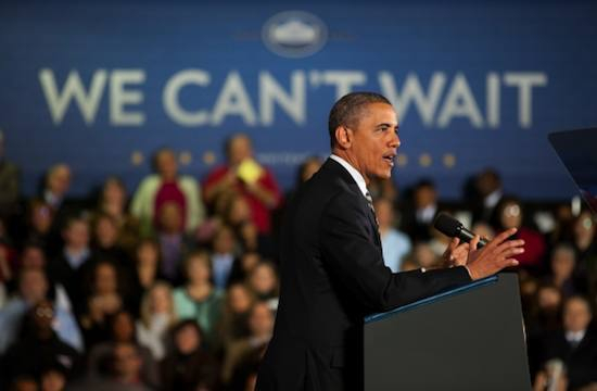 Obama speaks in Ohio