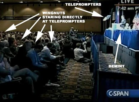 CPAC telepromoter