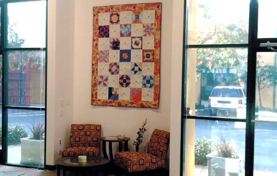Daily Kos office quilt