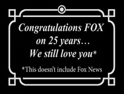 Congratulations, Fox
