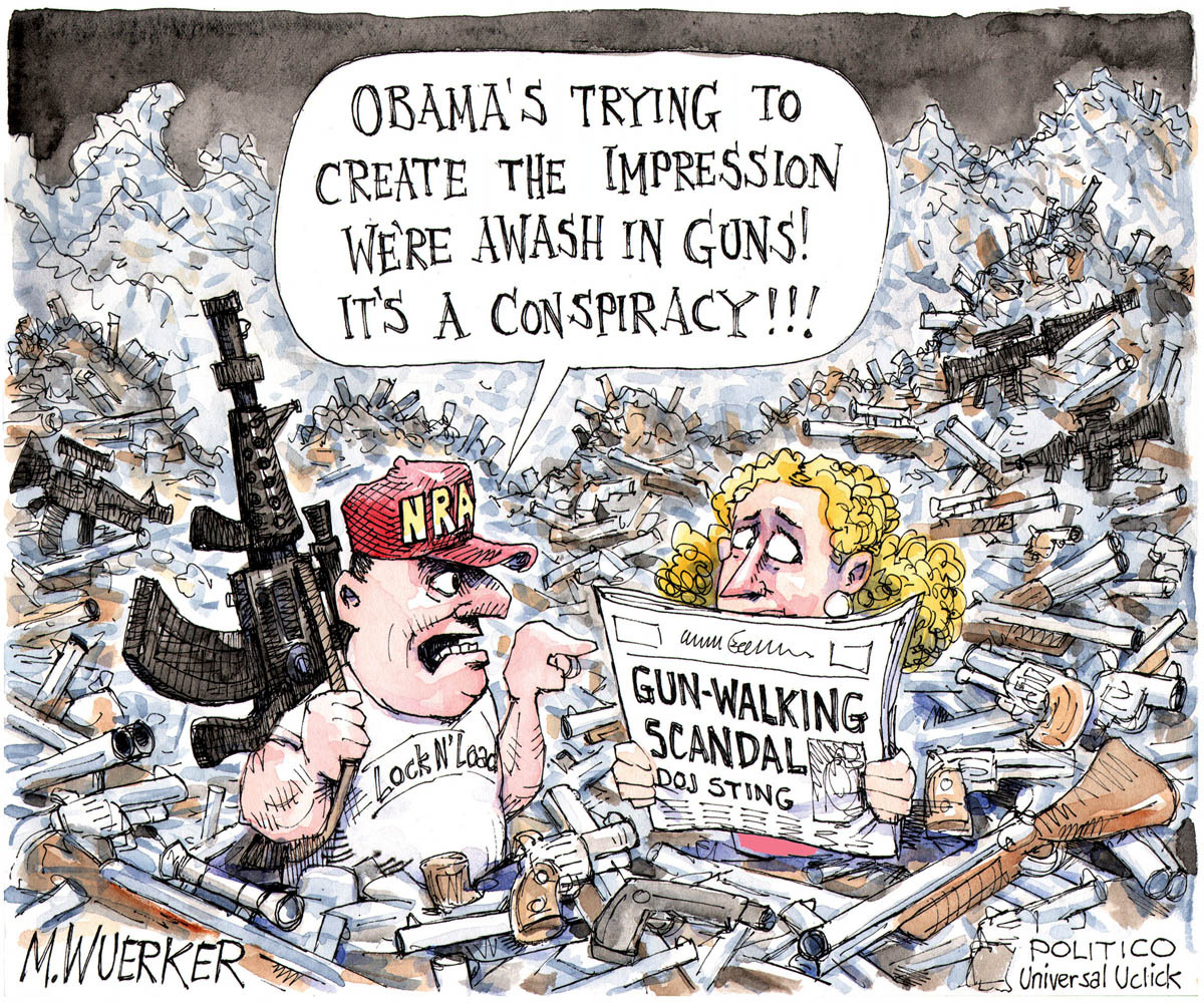 Fast And Furious News And Political Cartoons: A Fast, Furious ... Fiendish Conspiracy
