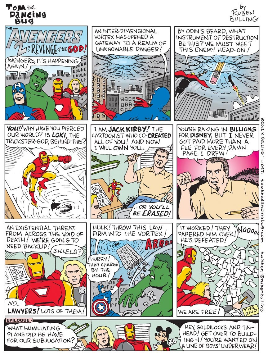 Avengers Comic Pages