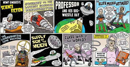 Newt Gingrich's Science Fiction