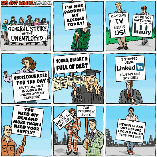 General strike of the unemployed