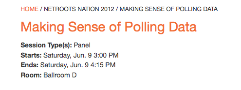 polling panel info at NN 12