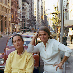 Thea Spyer and Edie Windsor, back in the day (via NYCLU)