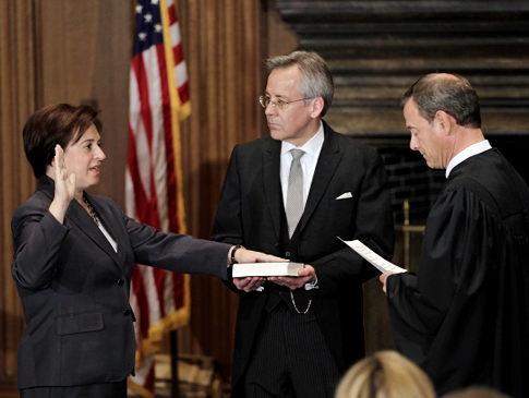 Justice Kagan's swearing-in