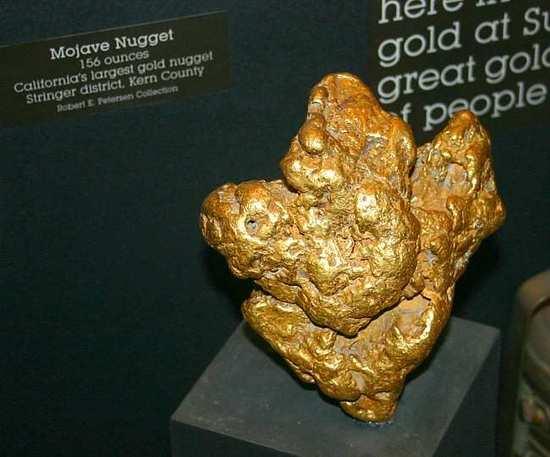 Stringer Gold Nugget
