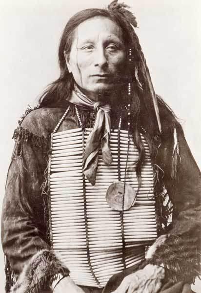 Tȟatȟáŋka PtÃčela aka Grant Short Bull, an Oglala Lakota witness to