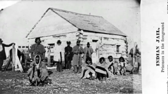 Photo of Indian Jail in Minnesota