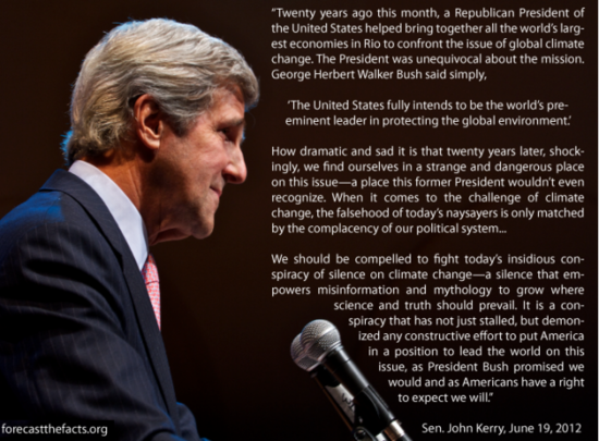 John Kerry climate speech