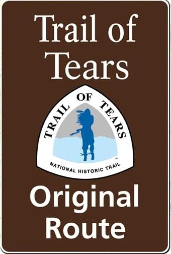 Trail of Tears route marker