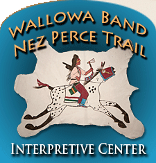 wallowa nez perce interpretive center logo