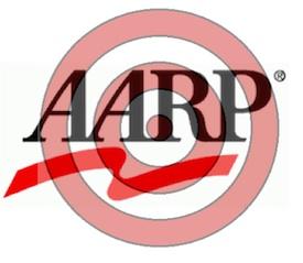 AARP logo w/target