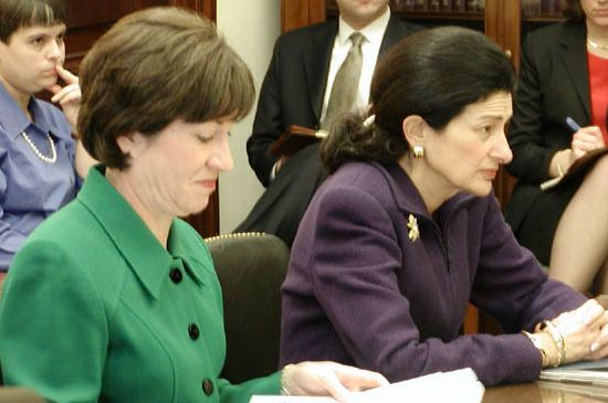Collins and Snowe
