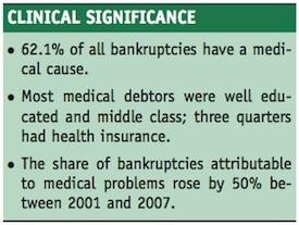 medical bankruptcy