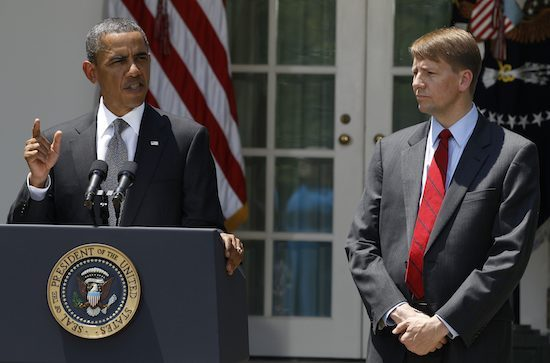 Obama and Cordray