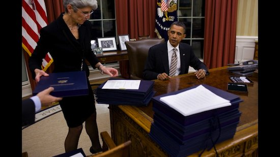 Obama bill signing