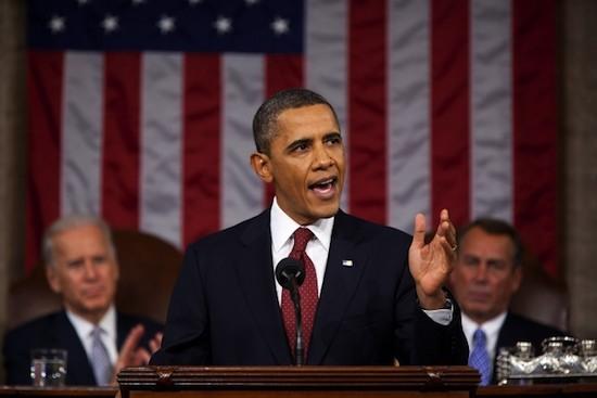 Biden, Obama, Boehner at SOTU
