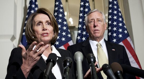 Nancy Pelosi and Steny Hoyer