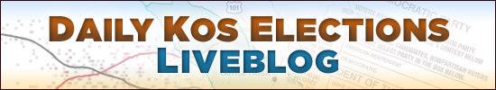 Daily Kos Elections Liveblog Banner