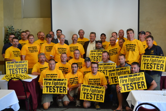 Fire Fighters endorse Jon Tester