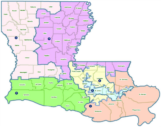 Redistricting New Congressional Maps Pass In AR Amp LA