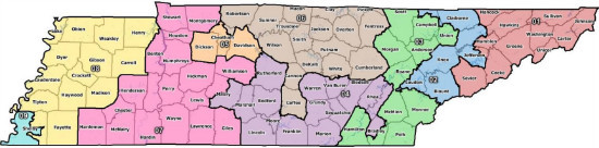 New TN congressional map
