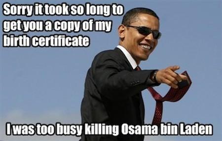 obama got binladen