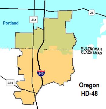 Oregon's HD-48
